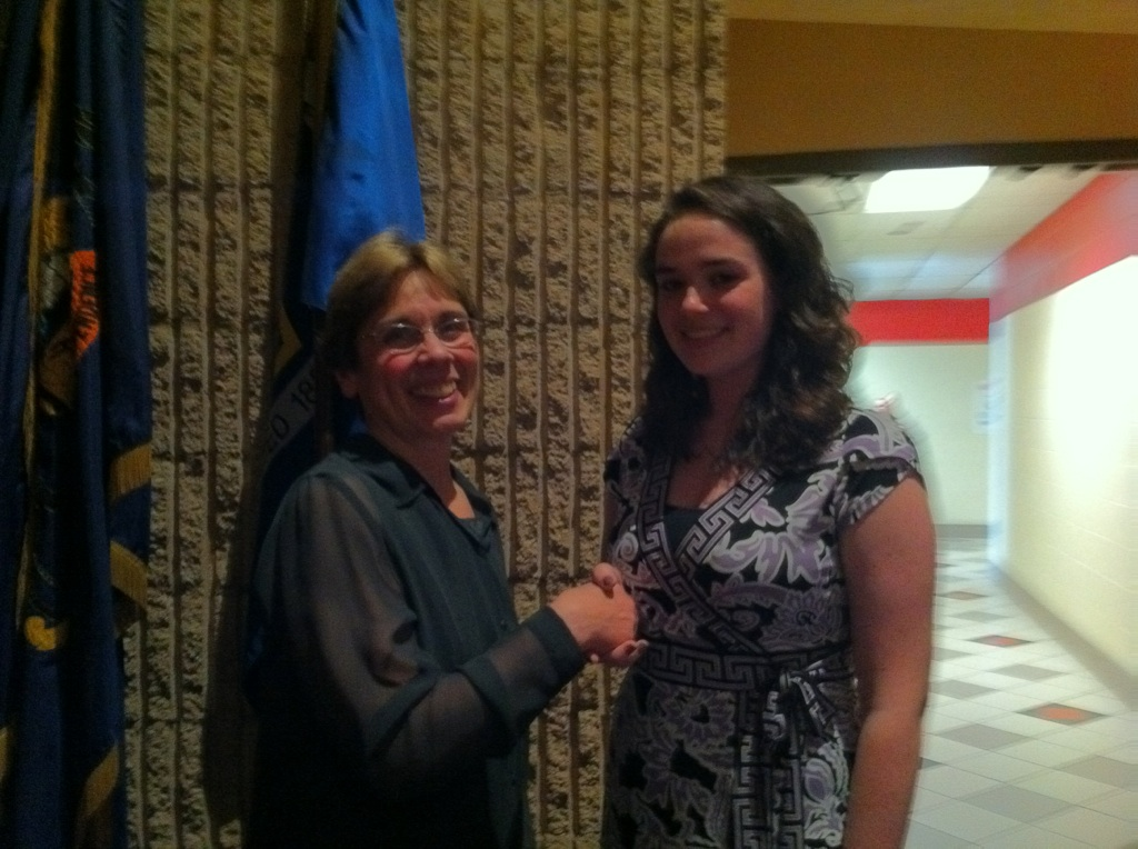 2011 Class of 1975 Scholarship Recipient - Morgan Gill