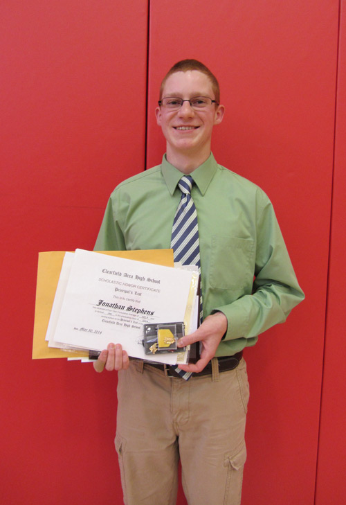2014 Class of 1975 Scholarship Recipient - Jonathan Lucas Stephens